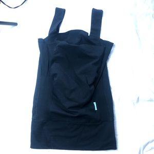 Aden anais black baby bonding top sleeveless L